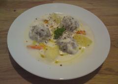 Σούπα γιουβαρλάκια