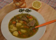 Κρεατόσουπα με λαχανικά ( Βήμα – βήμα )