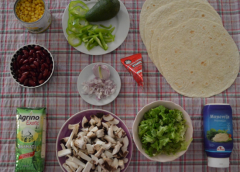 Εύκολο Vegetarian burrito ( Βήμα – βήμα )